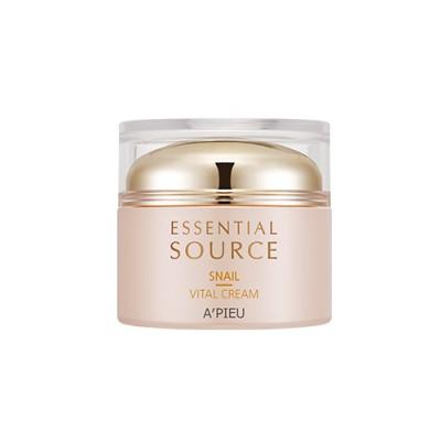 YeonJi- A'PIEU Essential Source snail Vital Cream 50ml
