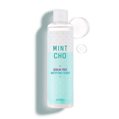 Rooney- A'PIEU Mintcho Sebum Free Mattifying Toner 225ml